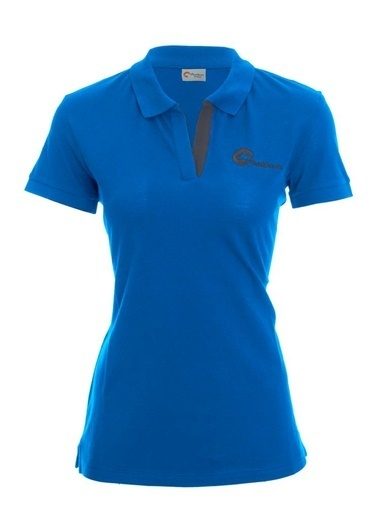 Panthzer  Teslin Kadın Polo T-Shirt Mavi